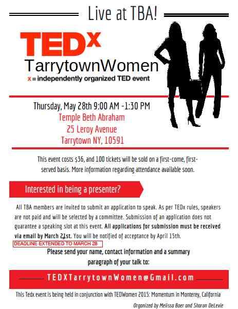 TEDxWomenFlier